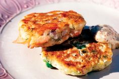 Smoked trout and potato fritters main image