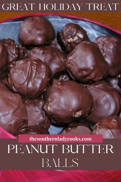 Candy Recipes, Holiday Recipes, Cookie Recipes, Dessert Recipes, Peanut Butter Balls, Peanut Butter Recipes, Peanut Brittle, Just Desserts, Delicious Desserts