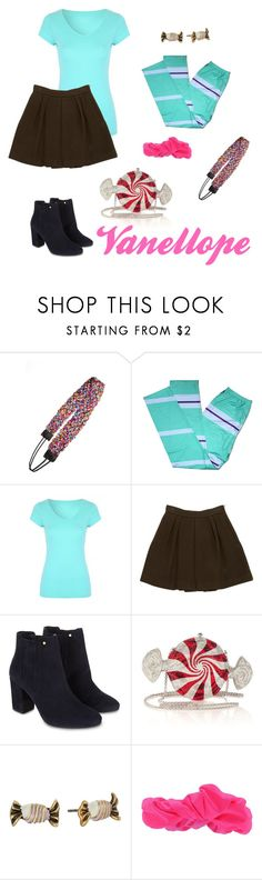 """""""Vanellope Disney Bound"""" by disney-nerd-designs ❤ liked on Polyvore featuring Tasha, STELLA McCARTNEY, Monsoon, Judith Leiber, Marc Jacobs and Forever 21"""