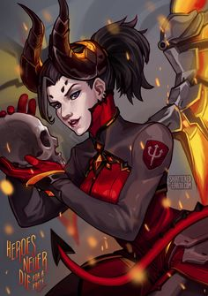 Overwatch devil mercy compilation with sound