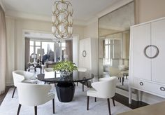 Jed Johnson - Contemporary Dining Room