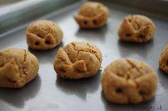 arasidove cookies  Arašidové cookies z 3 ingrediencií – bez múky, cukru