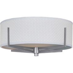 Shop for Nickel Elements 3-light Flush Mount. Get free delivery at Overstock.com - Your Online Home Decor Shop! Get 5% in rewards with Club O!