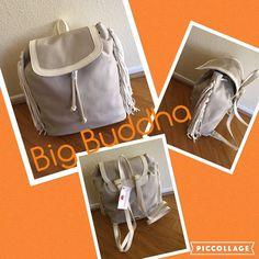 5a353f432046 ❤️Big Buddha fringe backpack NWT❤ ❤️Big Buddha NWT beige cream fringe