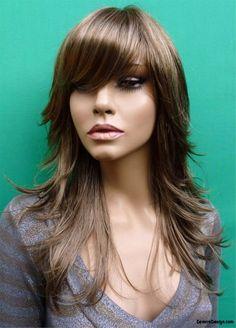 Long Razor Cut Hairstyles | Layered Razor Haircut | Pinterest ...