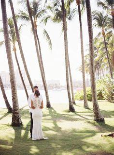 Romantic Garden Wedding by the Sea – Style Me Pretty
