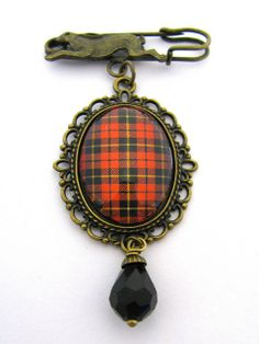 Wallace Brooch from the Scottish Tartan, Ancient Romance Series.