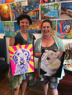 Learn to paint and enjoy a glass of wine at Vine & Canvas. We will guide you in duplicating the night's highlighted painting. Take home your own Masterpiece! Paint Your Pet, Paint And Sip, Paint Party, Learn To Paint, Animal Party, Fur Babies, Grateful, Vines, Paintings