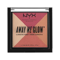 Away We Glow Illuminating Powder in SUNSET BLVD - VIOLET, ROSE & CHAMPAGNE TONES