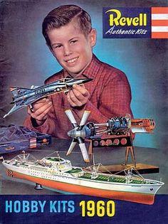 Revell Hobby Kits 1960