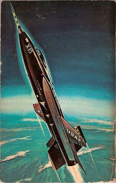Honoring the men and machines of the golden age of experimental aircraft. Military Jets, Military Aircraft, Fighter Aircraft, Fighter Jets, 70s Sci Fi Art, Experimental Aircraft, Airplane Art, Jet Plane, Aviation Art