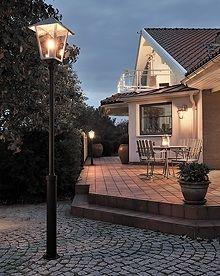 Lantaarnpaal Konstsmide Benu 437-320 #lantaarn #lantaarnpaal #buitenlamp #lamp123.nl #tuinverlichting #buitenverlichting