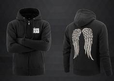 Daryl Dixon Wings Fleece Cotton Men Hoodies