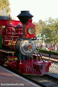 Disneyland Railroad Train 1 Beleef de historie van oude treinen www.desteenakker.nl