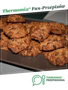 Ciastka owsiane z suszonymi owocami jest to przepis stworzony przez użytkownika SandraKK. Ten przepis na Thermomix<sup>®</sup> znajdziesz w kategorii Słodkie wypieki na www.przepisownia.pl, społeczności Thermomix<sup>®</sup>. Sides For Chicken, Low Carb Side Dishes, Sweet Tooth, Bbq, Veggies, Food And Drink, Baking, Breakfast, Recipes