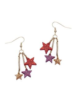 Cracker Bang Star Burst Earrings £30 - Christmas 2012
