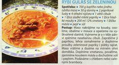 Rybí guláš Hummus, Ethnic Recipes, Food, Hoods, Meals