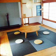 kazu_さんの、照明,ステンシル,畳,和室を改造,コンテスト参加♡,シンプルモダン,部屋全体,のお部屋写真