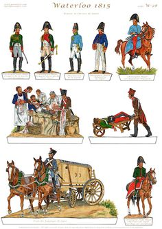 Gorini Art - Soldatini di Carta Roman Gladius, Bataille De Waterloo, Britains Toys, Military Engineering, Waterloo 1815, Military Figures, Napoleonic Wars, Toy Soldiers, Paper Models
