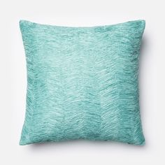 Loloi Lt. Blue Decorative Throw Pillow (P0030)