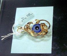 Designer Series Vintage Doll Eye Pendant by SteinGemJewelry, $124.95
