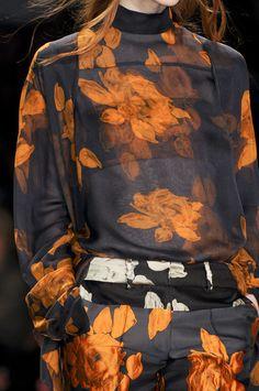 floral pattern | Vera Wang F13