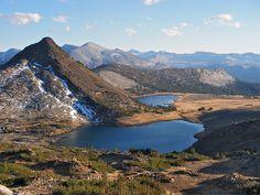 Upper & Middle Gaylor Lakes, Yosemite National Park