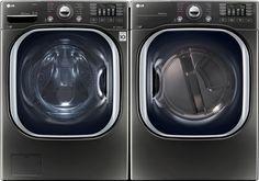 LG LG4370FL LG 4370 Series Front Load Washer + Dryer Pair