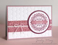 Stampin' Up! Make a Medallion with Glimmer Paper Assortment Pack (Sale-a-bration) - Judy May, Just Judy Designs