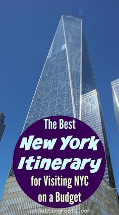 New York City Itinerary on a Budget. Our ultimate New York Itinerary - packed with iconic sightseeing and classic NY eats - is geared specifically toward those visiting NYC on a budget! #newyork #budgettravel