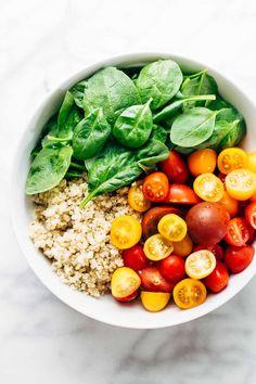 Ingredients for Green Goddess Salad
