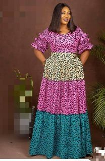 African Dresses For Kids, African Maxi Dresses, Latest African Fashion Dresses, African Print Fashion, African Attire, Women's Fashion Dresses, Long Ankara Dresses, Ankara Gowns, Ankara Dress Designs