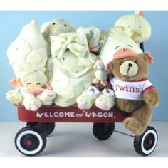 Twin Welcome Wagon - for Boy or Girl