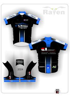 Van Wittenbegh Team Wear, Cycling Jerseys, Cycling Outfit, Sport Outfits, Wetsuit, Layouts, Sportswear, Van, Swimwear