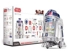 Grand Prize is a $100.00 Star Wars Droid Inventor Kit. Ever imagine what it'd be like to build your own robot? The Star Wars Droid Inventor Kit from littleBits lets you do just that! You can even teach it tricks!