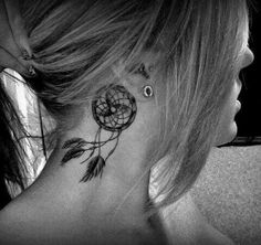 Dream catcher tattoo...different placement