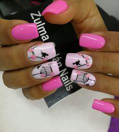 Beauty Brushes, Nail Decorations, Beauty Nails, Cute Nails, Acrylic Nails, Nail Designs, Nail Art, Makeup, Ideas