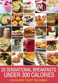 15 best breakfasts 300 calorie or images on pinterest healthy recipes 25 sensational breakfasts under 300 calories skinny mom forumfinder Image collections