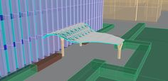 Canopy design for Hunt library #48105 #BingxuanLiang