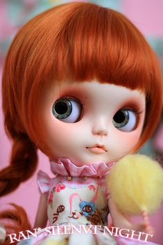 Ran's OOAK Custom Blythe Doll NO.2 by RanSilentNight on Etsy