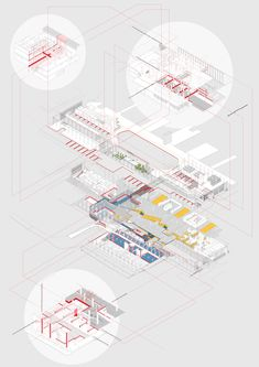 Alternative masterplan for Euston station; reverse engineering strategy and hierarchies of cuts and removals | Yannick Guillen