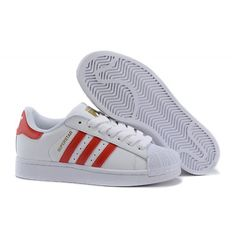 big sale e0a14 1a0d9 Herr Dam Adidas Originals Superstar Foundation Vit Running Skor B27139