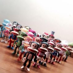 It's a #PaulFrank #Pinsday take over!! We ♡ Xanodard's collection! Which Julius figure is your fave?