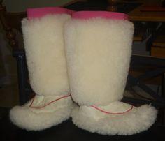 Inuit Made Sheepskin Kamiks By Rachel Hughes