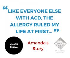 Must read! Amanda's Allergic Contact Dermatitis Story – My ACD story Contact Dermatitis, Everyone Else, Allergies, Amanda, How To Find Out, Facts, Reading, Reading Books