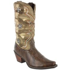 NIB Women&39s Corral R2517 Vintage Brown and Turquoise Eagle Western