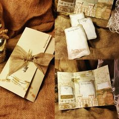 Get your guests excited from the get-go with these amazing Marauder's Map style wedding invitations from You're Invited by Amanda. These alternative wedding invitations will be on display in your guests' homes for years to come.