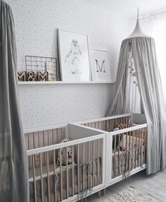 nursery inspo 👶🏼 love the colour scheme in this room!