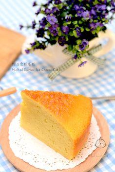 榴莲冰淇淋蛋糕 Melted Durian Ice Cream Cake