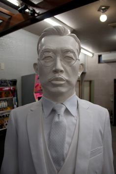 """Nakanojo Biennale the emperor Hirohito and the dog Hachiko two """"icons"""" of showa period are meeting in an old game center. Showa Period, Hachiko, Old Games, Historical Images, The Visitors, Japanese Culture, World War Ii, Inventions, Pop Art"""